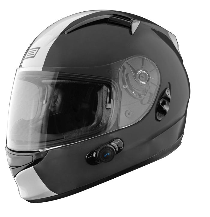 Full face helmet with intercom Origin Wind 2 Tony Blinc G2 Black