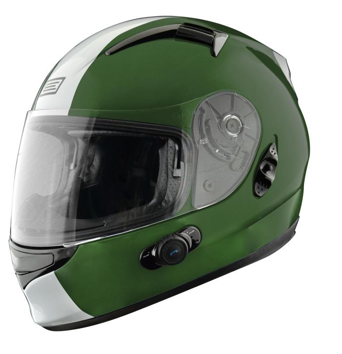 Full face helmet with intercom Origin Wind 2 Tony Blinc G2 Verd