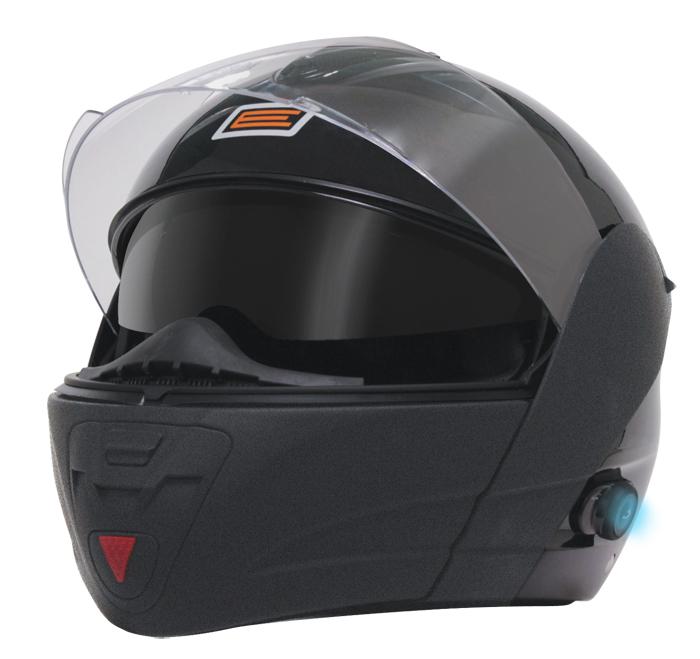 Modular helmet with intercom Origin Tecno Bicolor Black Blinc G2