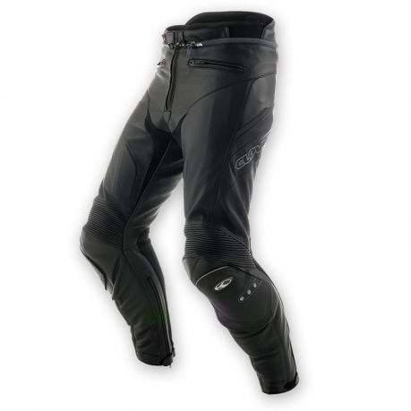 Clover Triforce leather motorcycle pants Level 2 Black