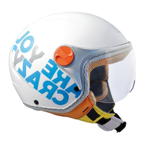 Jet Helmet Visor Sports Cyan 205g baby CGM