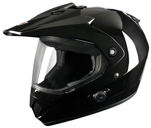Casco enduro Origine Gladiatore con intefono Blinc G2 Nero