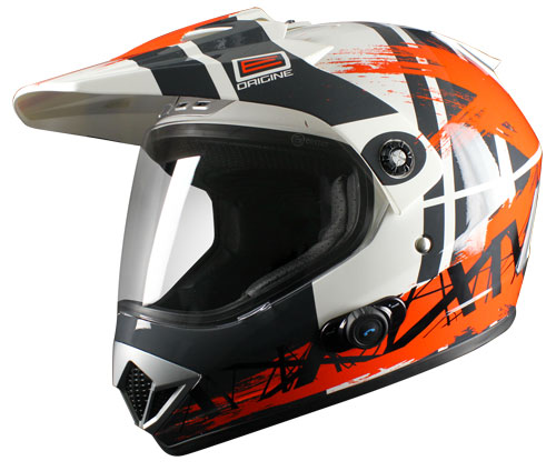 Origine Gladiatore Dakar Enduro Helmet wtih intercom Blinc G2
