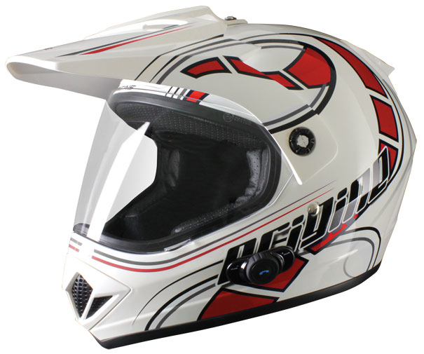 Casco enduro Origine Gladiatore Stelvio con interfono Blinc G2