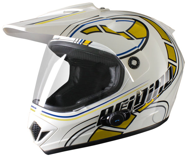 Casco enduro Origine Gladiatore Stelvio con intefono Blinc G2 Gi