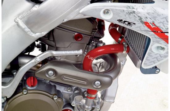 Silicone tubing Honda Red Kite