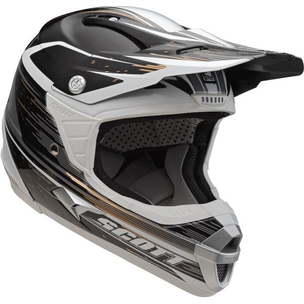 Cross helmet Scott Airborne Grid Grey Black