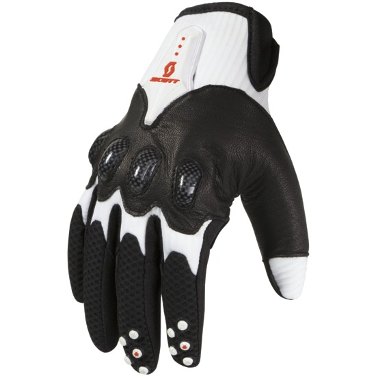 Gloves cross Scott Assault White Black