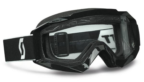 Scott Hustle MX Enduro  off road goggles black