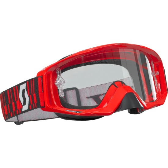 Scott Tyrant off road goggles Red