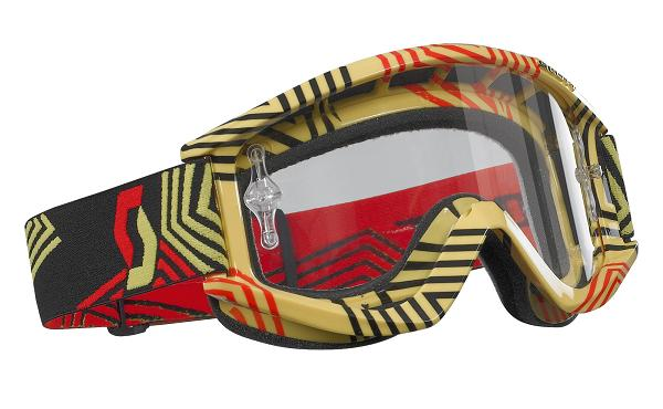 Scott RecoilXI Pro off road goggles Yellow