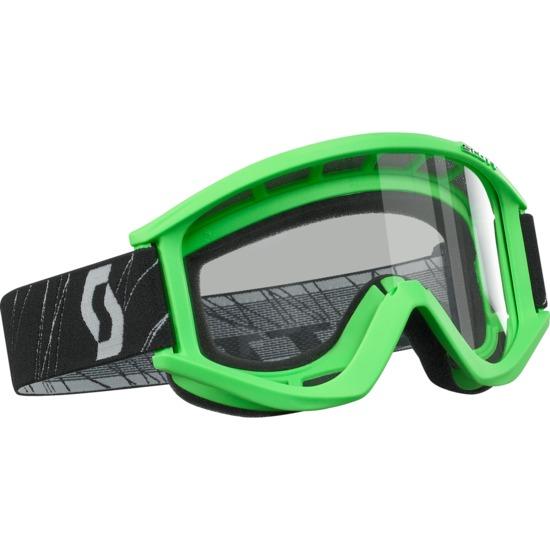 Scott RecoilXi off road goggles Green