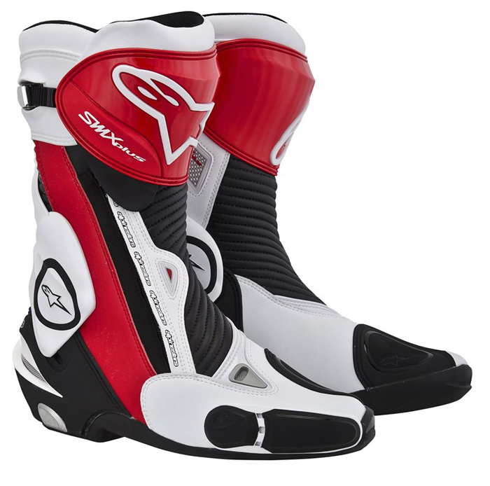 Boots Alpinestars S-MX Plus Black Red White