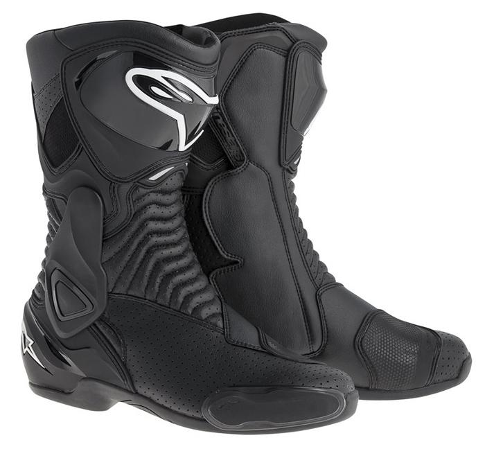 Vented Boots Alpinestars SMX 6 Black