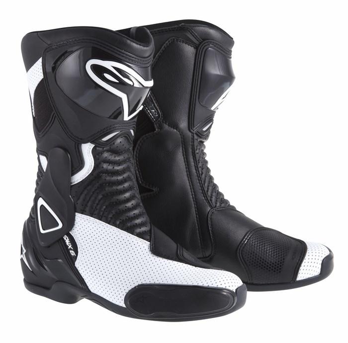 Alpinestars Stella S-MX 6 boots black white vented