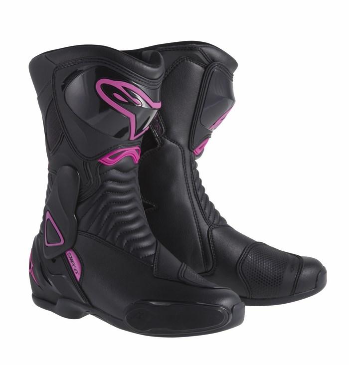 Alpinestars Stella S-MX 6 boots black pink