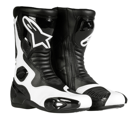 Boots Alpinestars Stella S-MX 5 Ladies White-Black