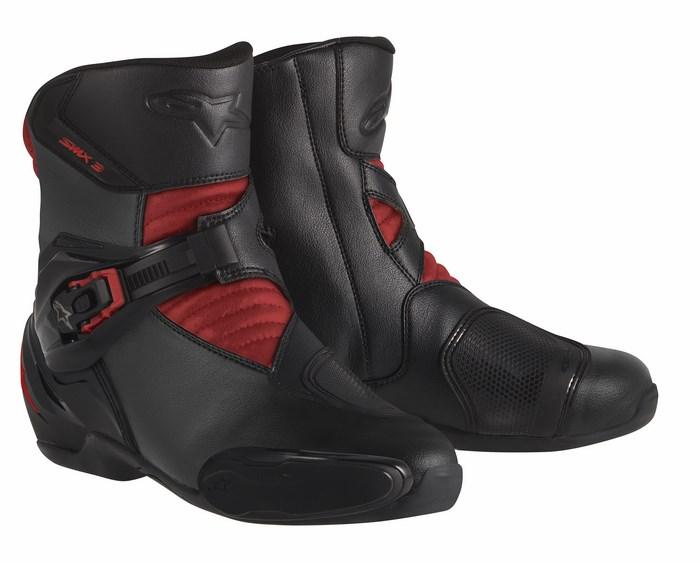 Stivali moto Alpinestars S-MX 3 nero rosso