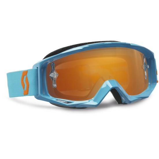 Scott Tyrant Goggles cross Oxide Blue Orange