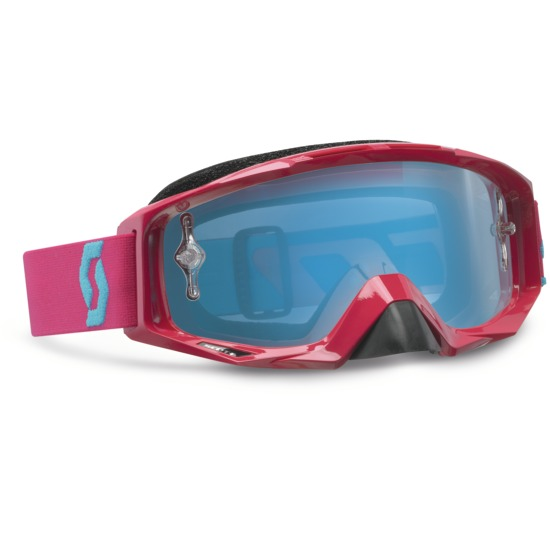 Scott Tyrant Goggles cross Oxide White Pink