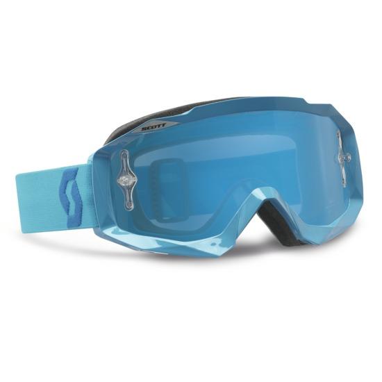 Scott Hustle MX Goggles cross Oxide Blu