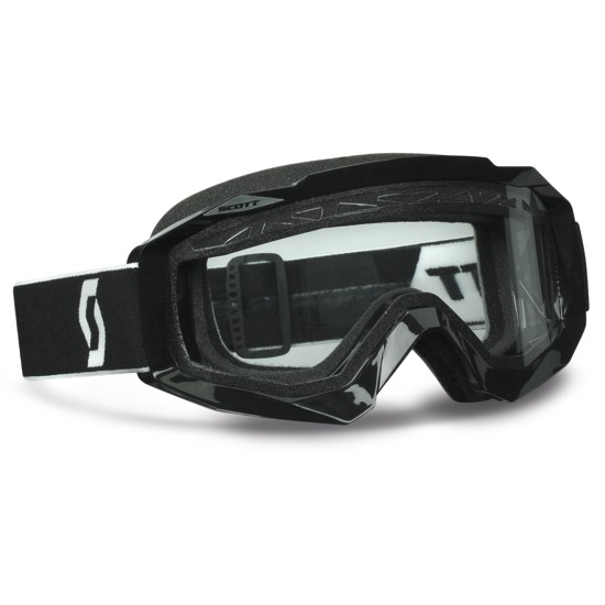 Goggles Scott Hustle MX Enduro Cross Black