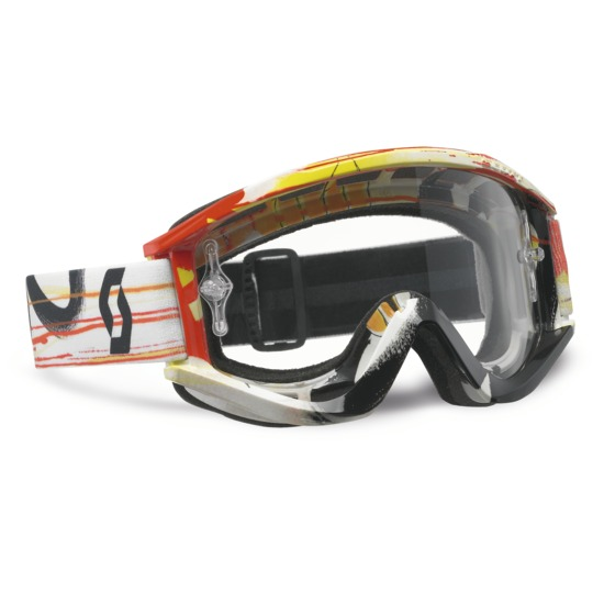 Scott cross glasses RecoilIX Pro Paint Orange