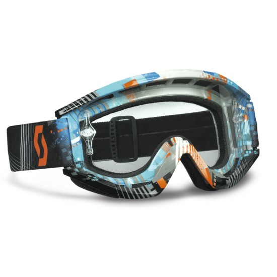 Glasses Scott Recoil XI Pro Tangent Blue Orange