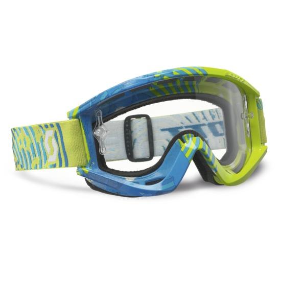 Scott cross glasses RecoilIX Pro Green Blue Vinyl