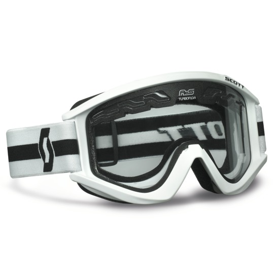 Cross RecoilIX Enduro Goggles Scott White