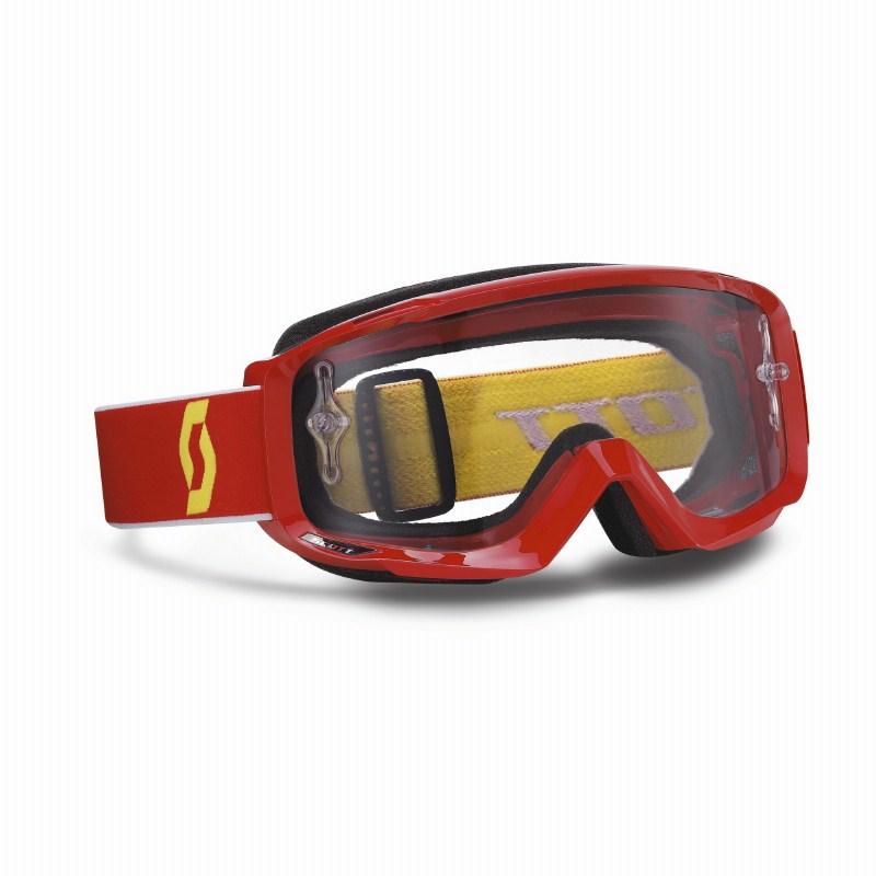 Scott Split Pro OTG cross goggles Red