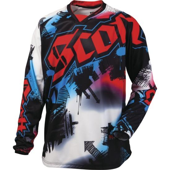 Artist Scott Motocross Jersey kid Black / Red