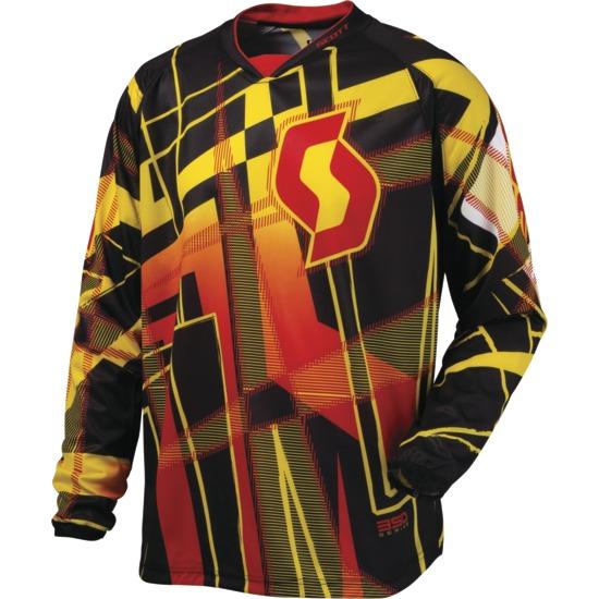 Scott Hyper Motocross kid jersey Black / Red