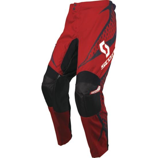 Pantaloni cross Scott 250 Spectre Nero Rosso