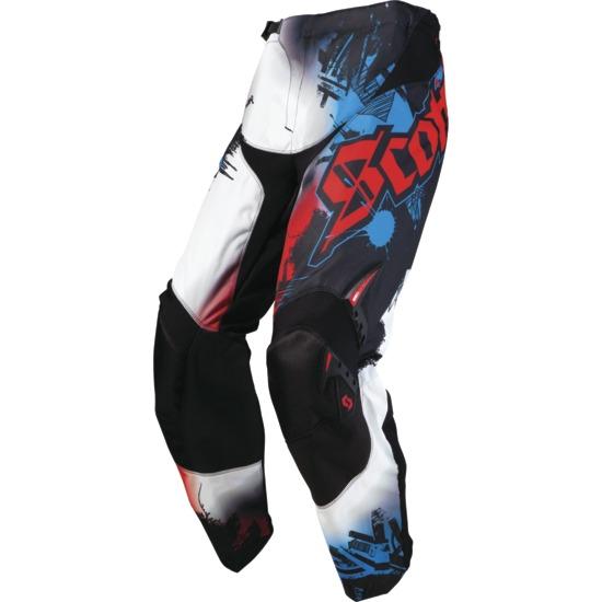 Pantalone Scott Motocross Artist Kid Nero/Rosso