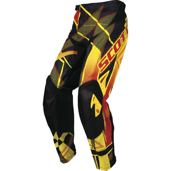 Scott Pants Kid Motocross Hyper Black / Red