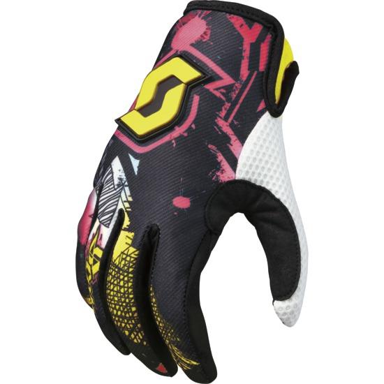 Artist kid Motocross glove Scott Black/ Green