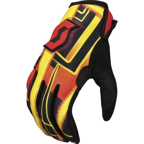 Hyper kid Motocross glove Scott Black / Red