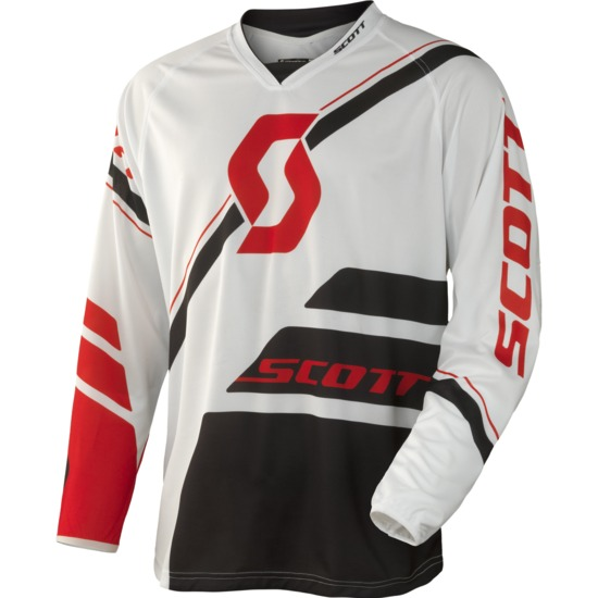 Scott 350 Jersey cross Armada Black White