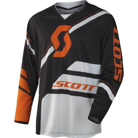 Scott 350 Jersey cross Armada Black Orange
