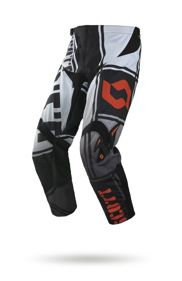 Pants cross Scott 350 Squadron Black Orange