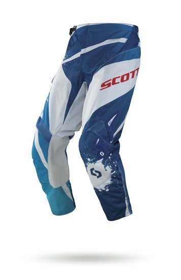 Pantaloni cross Scott 350 Tactic Blu Bianco