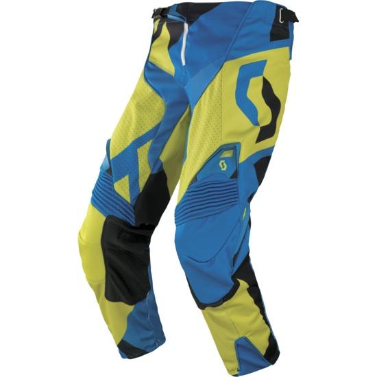 Pantaloni cross Scott 450 Cubic Verde Nero