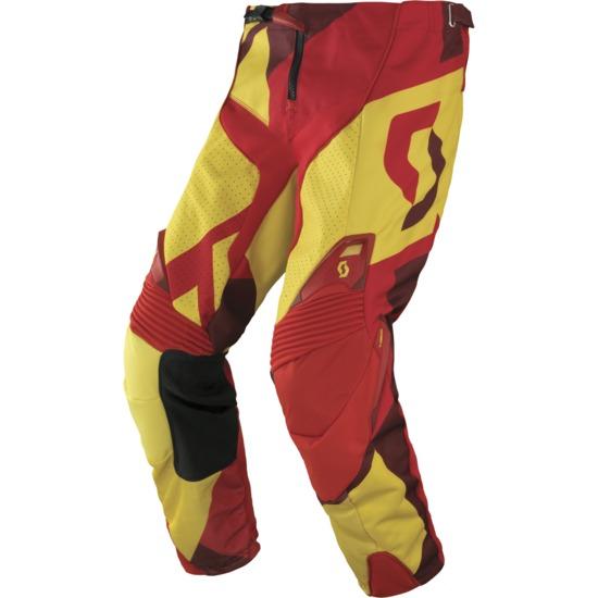 Pants cross Scott 450 Cubic Yellow Red