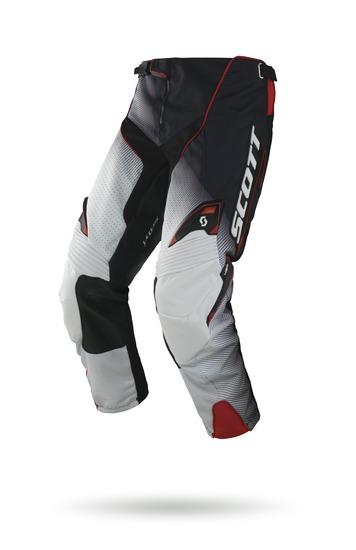 Pantaloni cross Scott 450 Fission Nero Bianco