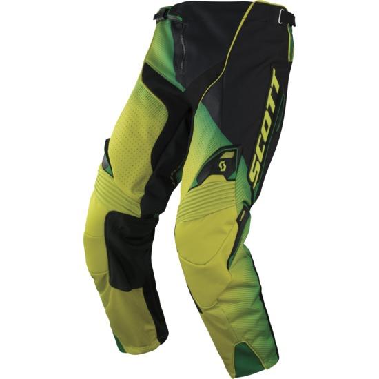 Scott Fission cross pants 450 Black Green