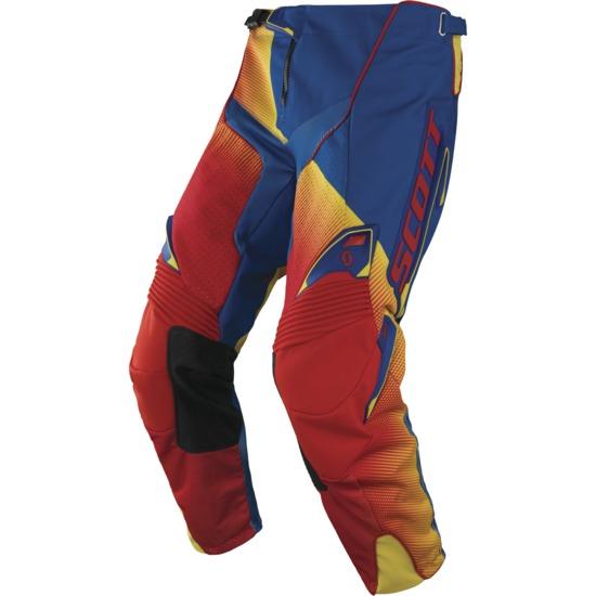 Pantaloni cross Scott 450 Fission Rosso Blu
