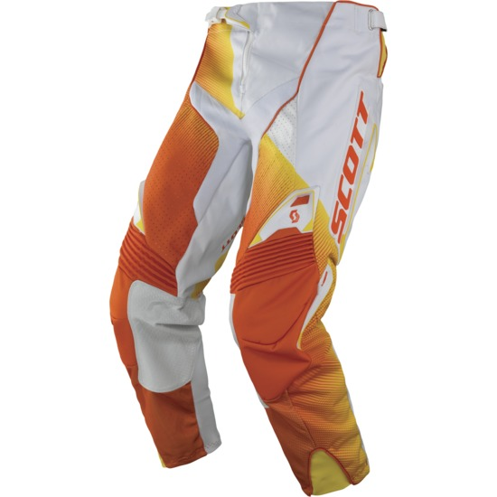 Scott Fission cross pants 450 White Orange