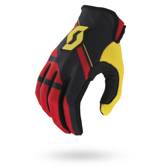 Gloves Scott 350 cross Armada Black Red