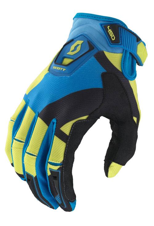 Cross Gloves Scott 450 Cubic Green Black